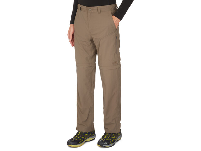 The North Face Horizon Convertible Pantalon Homme, weimaraner brown